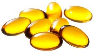 Vitamina E en cápsulas
