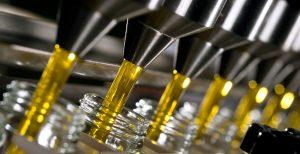 Envasado del aceite de oliva