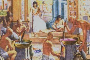 Fabricación de jabones de aceite de oliva en la antigüedad
