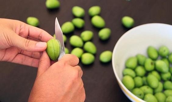 como se hacen las aceitunas en lejia