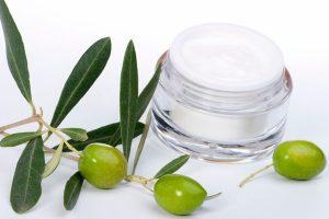 Aceite de oliva para uso cosmético