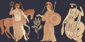 Contienda entre Poseidón y Atenea