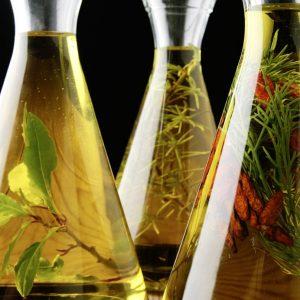 Aceites de oliva infusionados