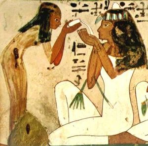 Se han encontrado ramas de olivo en los sarcófagos