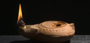 El aceite de oliva lampante se empleaba como combustible en las lámparas