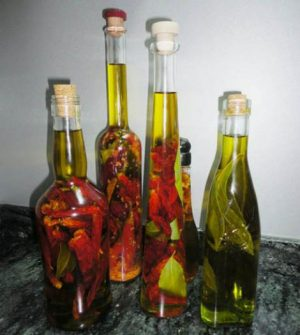 No faltan las opciones para elaborar aceites aromatizados